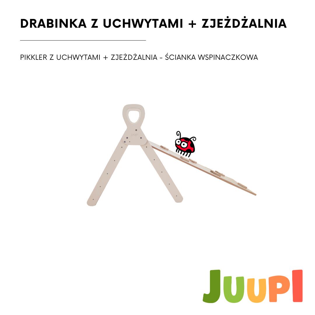 PIKLER TRIANGLE + SLIDE (2in1) JUUPI SET