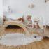Wooden rocker + slide