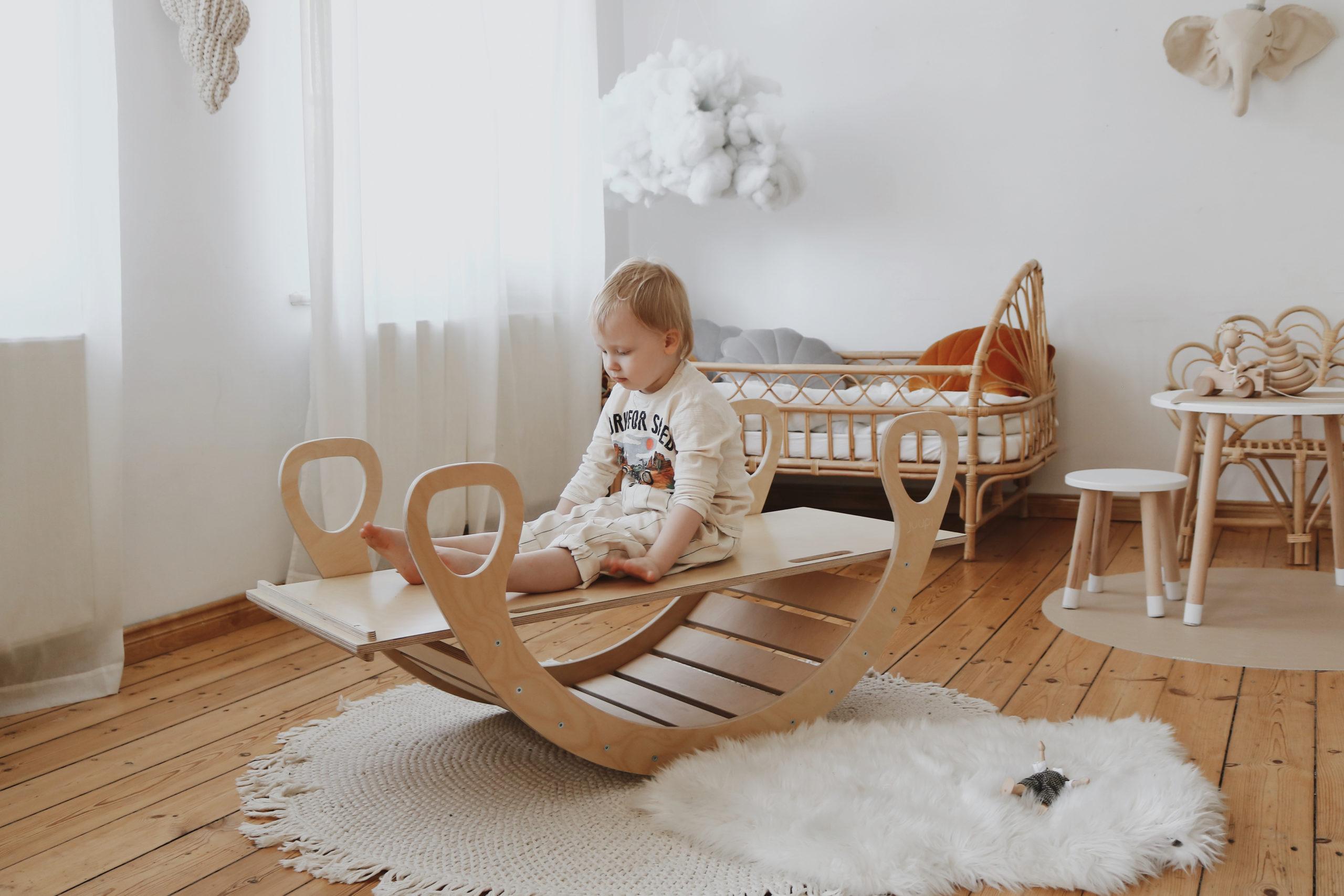 Wooden rocker + slide 2