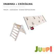 DRABINKA Pikler dla dzieci, slide, drabinka z drewna