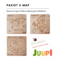 Pakiet 3 map JUUPI