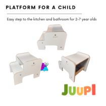 Step, step, landing, stand, stool with step, children's podium