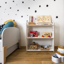 regał na zabawki MONTESSORI CHILDREN'S TOYSHELF made of ECO-friendly certified material for toys