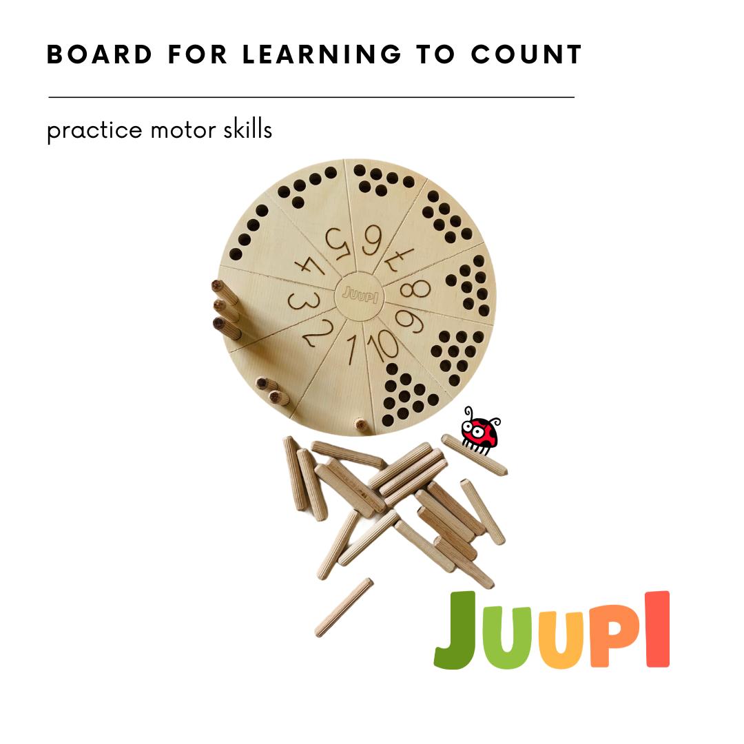 Montessori Wooden Board