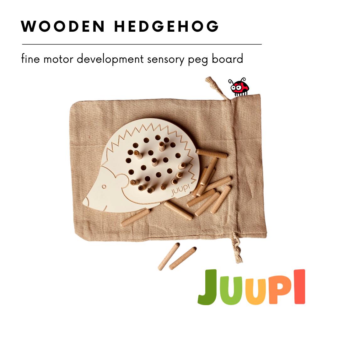 Montessori Wooden Hedgehog