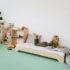 łóżko dla przedszkolaka, łóżko maria Montessori,