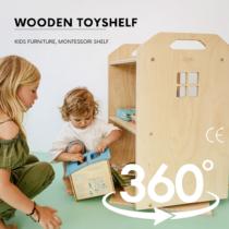 MONTESSORI CHILDREN'S TOYSHELF made of ECO-friendly