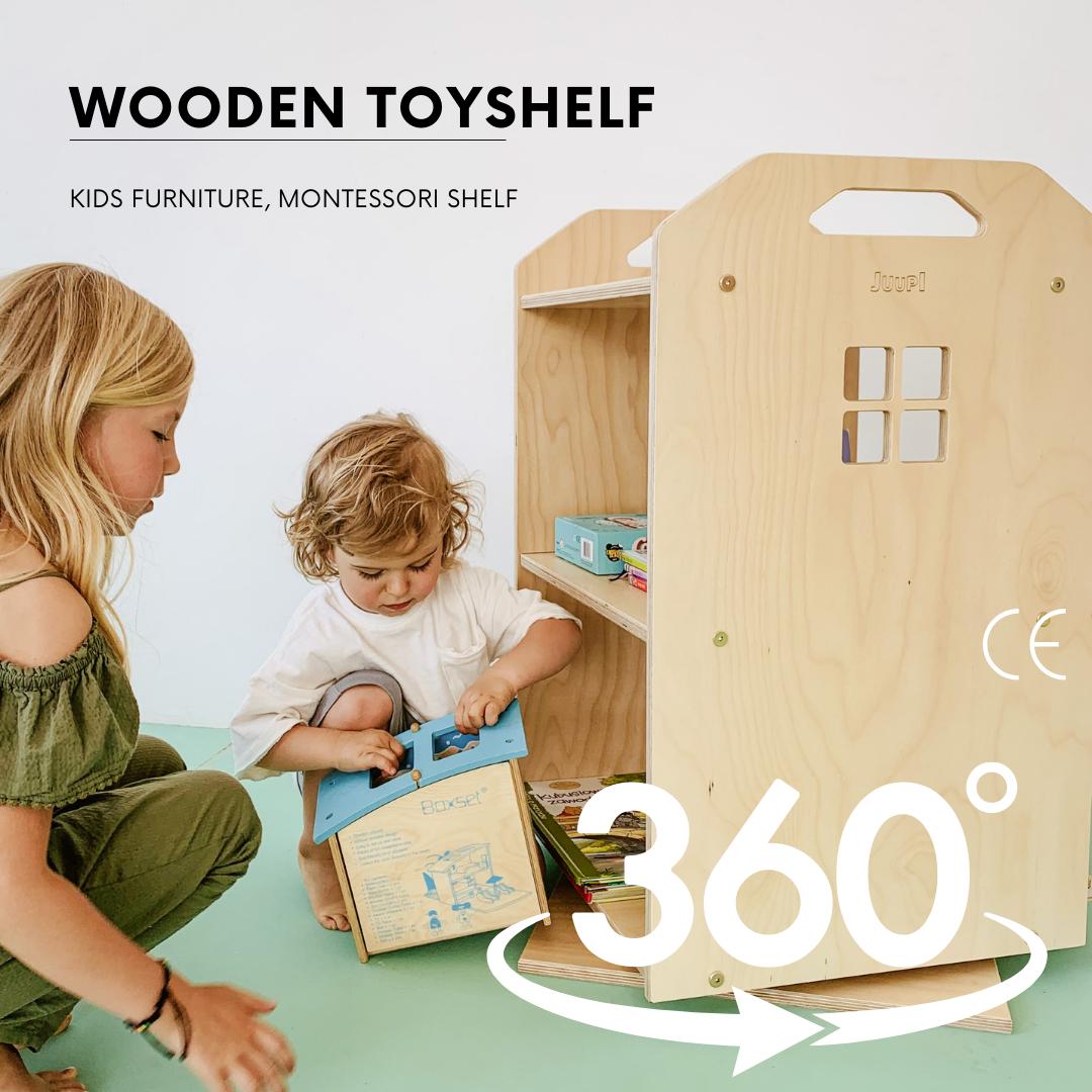MONTESSORI CHILDREN'S SPIELZEUGREGAL 360